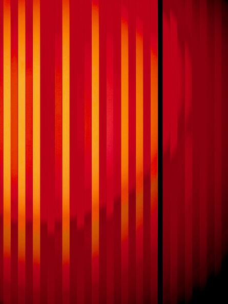 Hideo Anze, 'Stripe(50Hz) 2018/03/11 14:46:18 shibuya-ku', 2014-2020