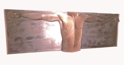 Paul Leal, 'Pink Man Figure', ca. 1990