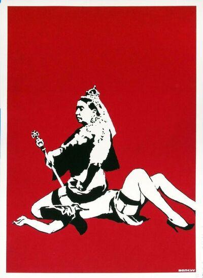 Banksy, 'Queen Victoria ', 2003