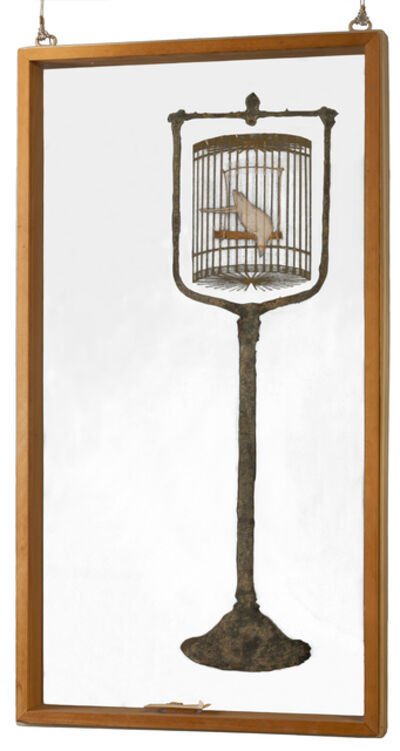 Mel Chin, 'Bird in a Cage', 1976