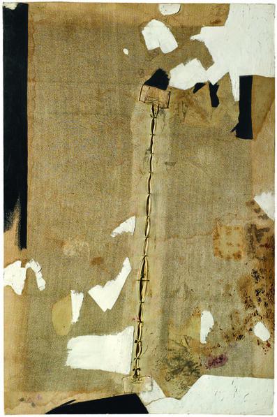Alberto Burri, 'Lo strappo (The Rip)', 1952