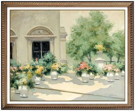 Andre Gisson, 'Parisian Courtyard', 20th Century