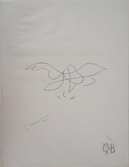 Georges Braque, 'L'envol', 1955