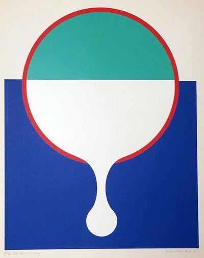 Takesada Matsutani, 'In the morning 在早晨', 1971