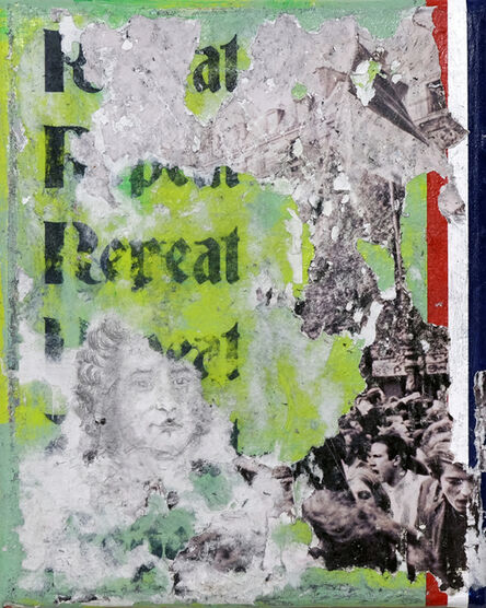 Zavier Ellis, 'Repeat (Tricolour)', 2021