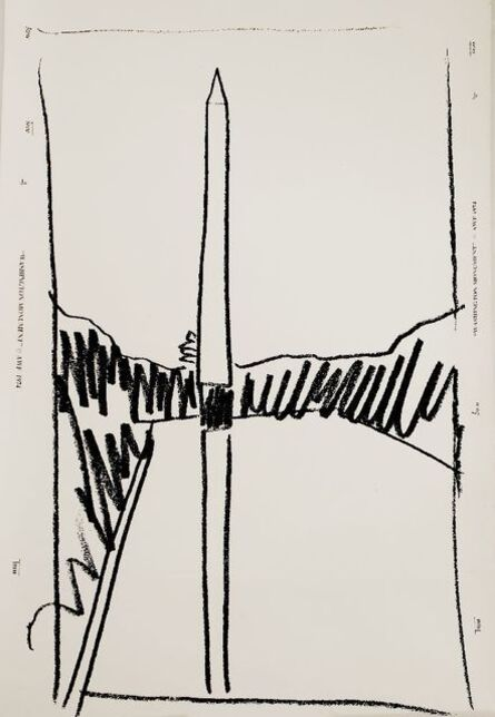 Andy Warhol, 'WASHINGTON MONUMENT WALLPAPER', 1974