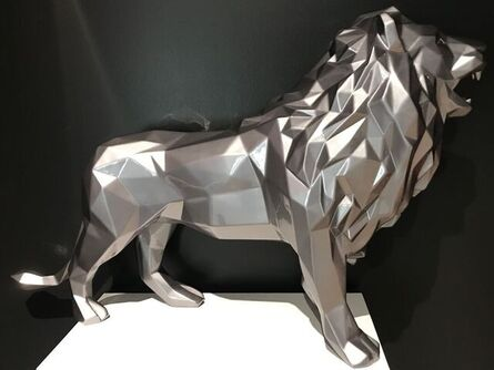 Richard Orlinski, 'Lion - Gris Metal', ca. 2021