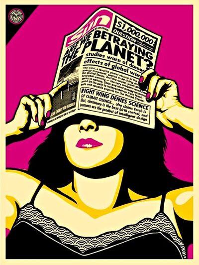 Shepard Fairey, 'Global Warning - Global Warming (Andy Warhol Edition)', 2009