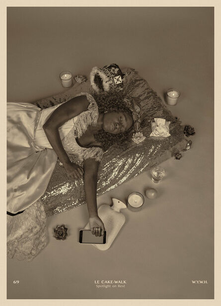 Heather Agyepong, 'Wish You Were Here (6. Le Cake-Walk: Spotlight on Rest)', 2020