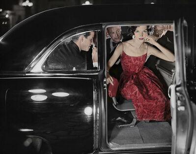 William Helburn, 'Limo: Joanna McCormick, New York', ca. 1951