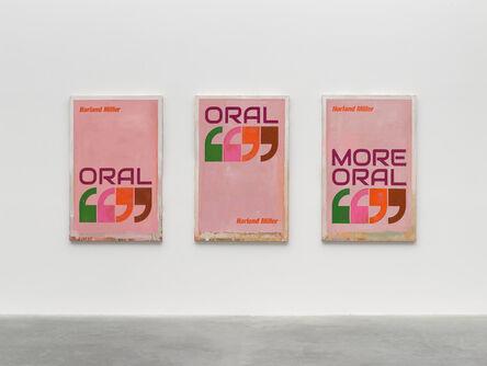 Harland Miller, 'Oral, Oral, More Oral', 2019