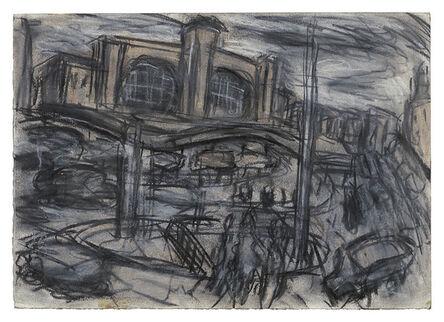 Leon Kossoff, 'King's Cross Stormy Day no. 1', 2004