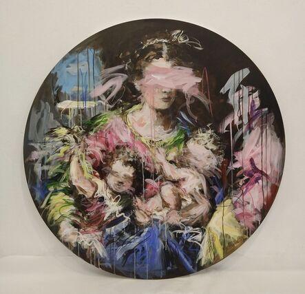 Mandy Racine, 'Madonna & the Bird', 2021