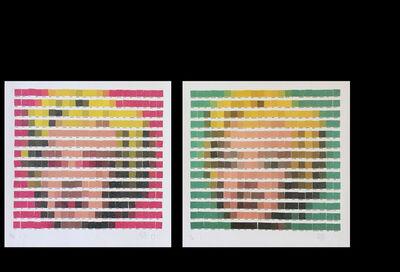 Nick Smith, 'Marilyn (Green & Pink Diamond Dust)', 2011