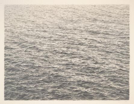 Vija Celmins, 'Untitled (Ocean)', 1977