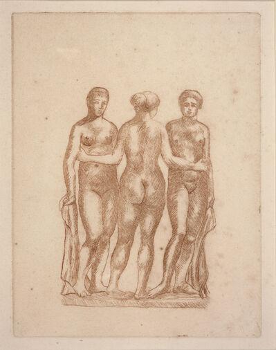 Aristide Maillol, 'Three Nudes', ca. 1936-1938