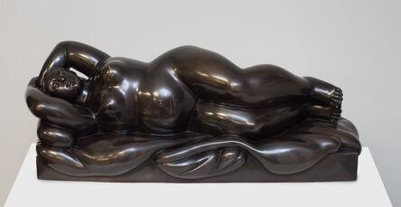Fernando Botero, 'Reclining Woman', 1999