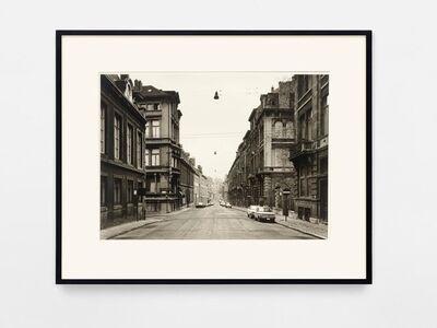 Thomas Struth, 'Rue aux Laines, Bruxelles 1980', 1980/2000