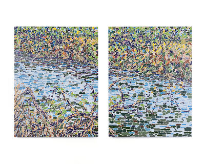 Arthur Jedson Smalley, 'River Diptych', 2017