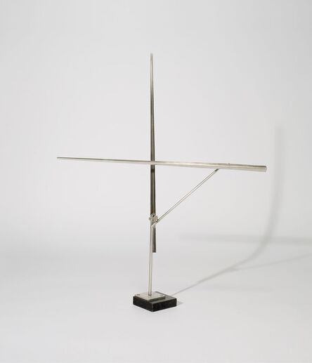 George Rickey, 'One Vertical One Horizontal Line III', 1974