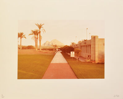 David Hockney, 'Untitled (Tennis Centre)', 1976