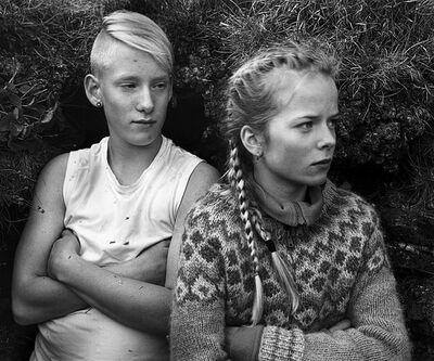 Agnieszka Sosnowska, 'Mikael and Arna,The Field Trip, Iceland', 2014
