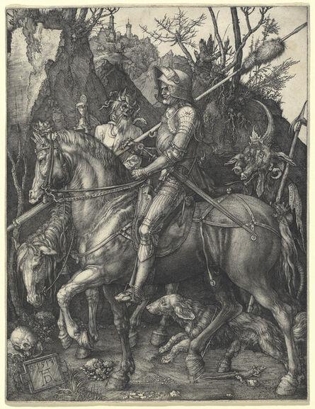 Albrecht Dürer, 'Knight, Death and Devil', 1513
