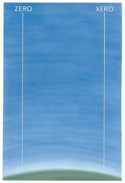 Ed Ruscha, 'Zero Xero', 1982