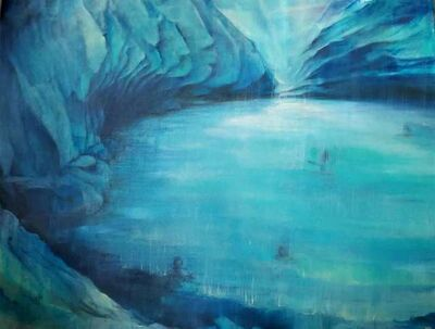 Oda Tungodden, 'The blue cave', 2020