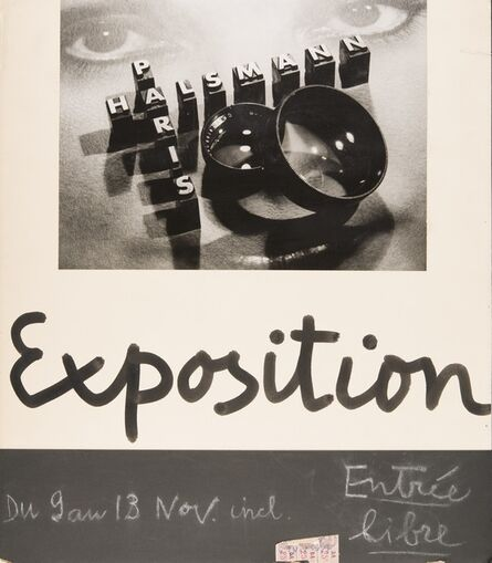 Philippe Halsman, 'Affiche Exposition Pleiade (Pleiade Exhibition Poster)', 1936