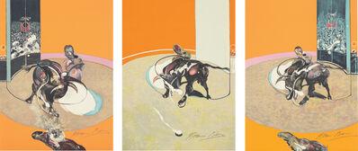 Francis Bacon, 'Triptyque de la tauromachie (Bulfighting Triptych) (S. 29, T. 37)', 1990