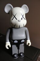 KAWS, '1000% Gray Bearbrick', ca. 2002