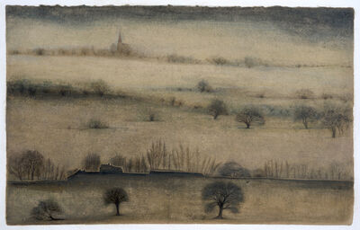 Veeda Ahmed, 'Reflections of a train journey through the English countryside', 2017