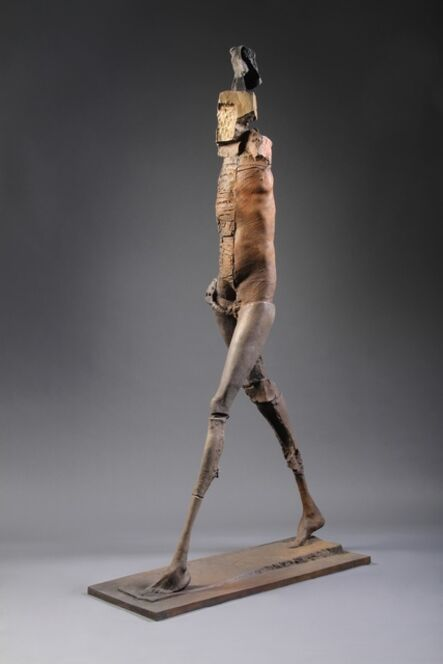 Stephen De Staebler, 'Deep Striding Woman', 2010