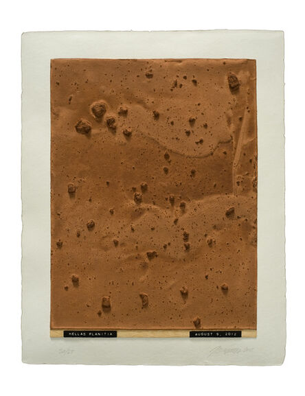 Julião Sarmento, 'Curiosity's Eye (hellas planitia)', 2013