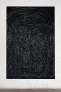 Thomas Houseago, 'Black Painting 8', 2016