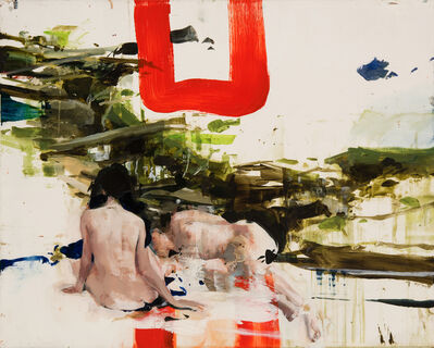 Alex Kanevsky, 'Ted's Brook with Imaginary Ladies', 2015