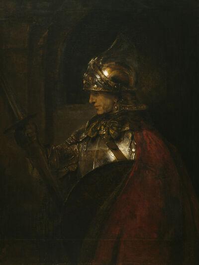 Rembrandt van Rijn, 'A Man in Armour (Alexander the Great?)', 1655