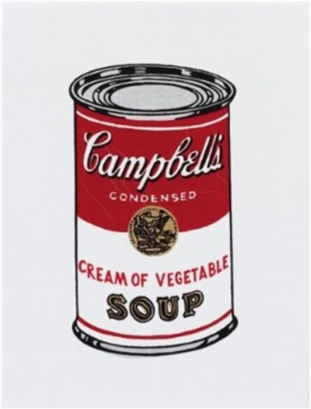 Richard Pettibone, 'Andy Warhol, Campbell cream of vegetable soup, 1962', 1987