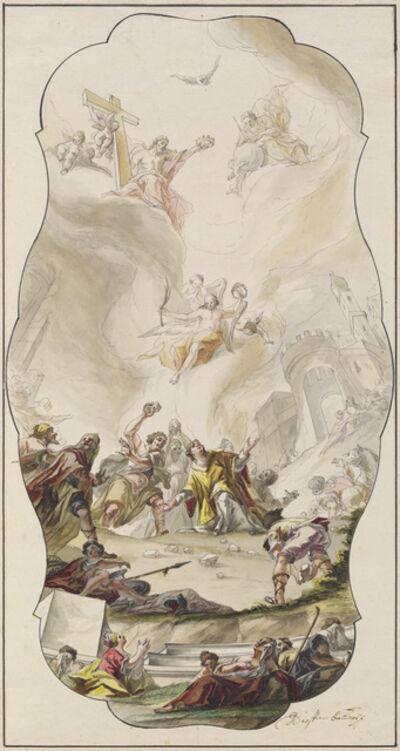 Johann Georg Dieffenbrunner, 'The Stoning of Saint Stephen', 1754