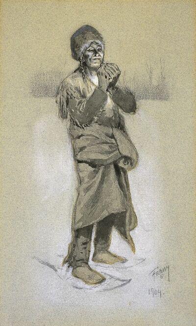 Henry F. Farny, 'Smoke Makes Rest', 1904
