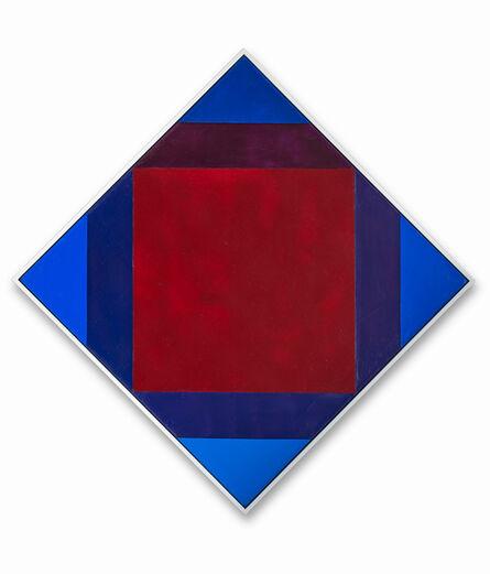 Max Bill, 'Zerstrahlung von Rot', 1972-74