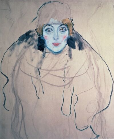 Gustav Klimt, 'Portait of a Lady', 1917-1918