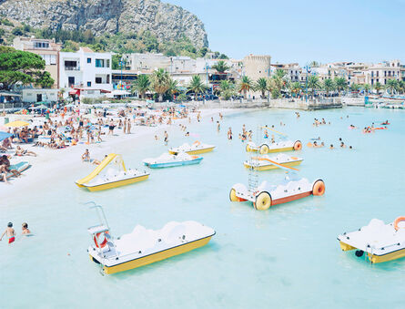 Massimo Vitali, 'Mondello Paddle Boats #2783, ed 35', 2007