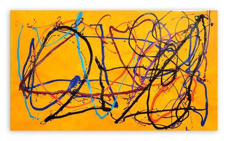 Dana Gordon, 'The Wayward Way (Abstract painting)', 2021