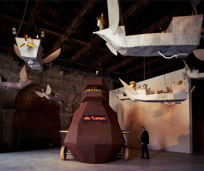 Heri Dono, 'Voyage (Installation view)', 2015