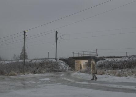 Ole Marius Jørgensen, 'Early Morning Encounter (Vignettes of a Salesman)', 2016