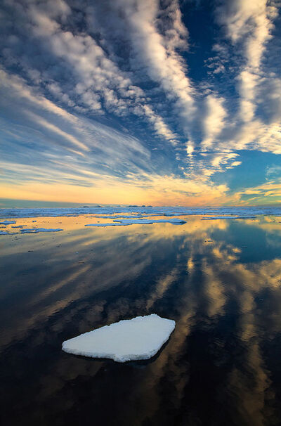 Stephen King 金昌民, 'Arctic Sky', 2016