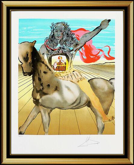 Salvador Dalí, 'Chevalier Surrealiste', 20th Century