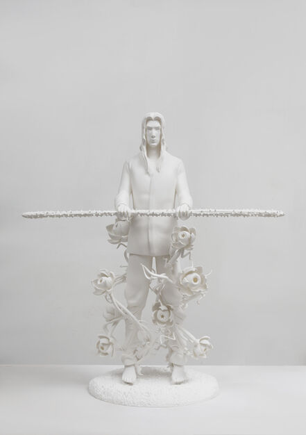 Chen Tianzhuo 陈天灼, 'Against the blade of honour - Disciple', 2020
